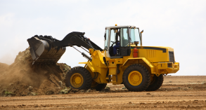 Wheeled front end loader operations
